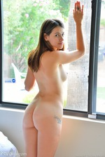 Amateur Chloe Strips And Play With A Sextoy 16