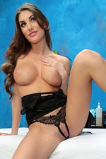 August Ames Strips Out Of Her Sexy Lingerie And Gets Fucked 04