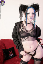 Goth With Long Legs 04