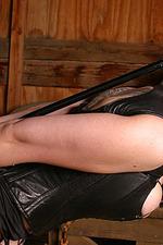 Busty Goth Girl Bound 03
