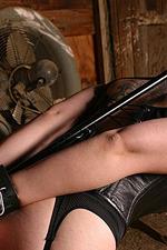 Busty Goth Girl Bound 10