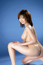 Rio Hamasaki Oiled Asian Hottie Spreading 05