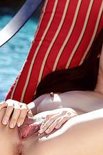 Marica Hase Nude Poolside 02