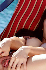 Marica Hase Nude Poolside 08