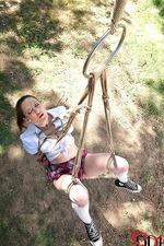 Bondage Master Ties Schoolgirl 09