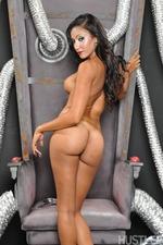 Sexy Latina Babe Sadie Santanaundressing Slowly 13