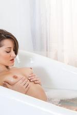 Dani Daniels Strips To Naked In The Bathroom 05