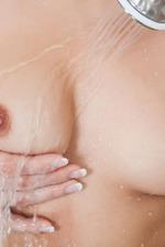 Dani Daniels Strips To Naked In The Bathroom 12