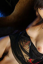 Asian Hottie Showing Her Hairy Pussy 10