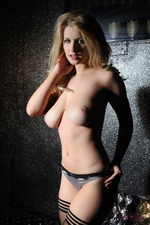 Gorgeous Blonde Jess Davies 13