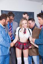 Horny Schoolgirl Aubrey Star 05