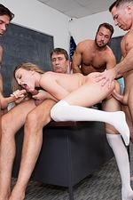 Horny Schoolgirl Aubrey Star 12
