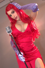 Katie Banks As Jessica Rabbit 00