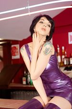 Mimi In Purple Latex 02