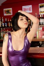 Mimi In Purple Latex 08