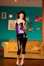 Antonia Purple Black Latex 06