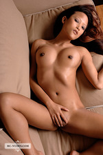 Ayla Sky Nude On The Couch 12