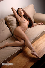 Ayla Sky Nude On The Couch 14