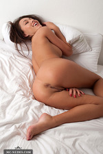 Adrean Nude On A Bed 09