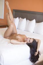 Beauty Eva Lovia Poses Naked 09