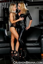Briana Banks And Alix Lynx Dressed Up In Latex 01