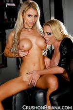 Briana Banks And Alix Lynx Dressed Up In Latex 09