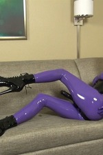 Latex Lara`s Cocksucking Rubbergimp 00