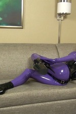 Latex Lara`s Cocksucking Rubbergimp 01