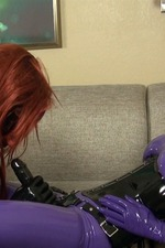 Latex Lara`s Cocksucking Rubbergimp 05