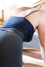 Masturbating And Sniffing Sweating Nylons 03