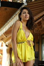 Eva Jane In Yellow Dress 05