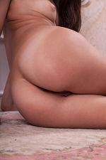 Skinny Tan Teen Floor Naked 05