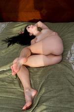 Sexy Malena Spreads On Bed 13