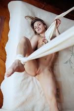 Nola Spreading In Her Bedroom 15