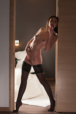 Sade Mare In Sexy Black Lingerie 11