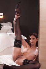Sade Mare In Sexy Black Lingerie 14