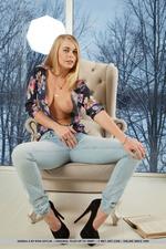Sexy Blonde Babe Sarika A 11