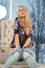 Sexy Blonde Babe Sarika A 12
