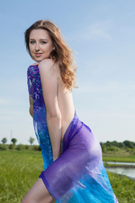Beautiful Teen Ginger Frost Nude By The Lake 06
