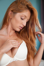 Busty Redhead Russian Bombshell Michelle H 01