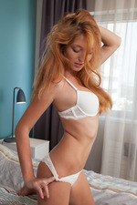 Busty Redhead Russian Bombshell Michelle H 02