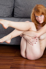 Adorable freckle-faced redhead Mia Sollis  14