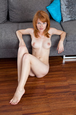 Adorable freckle-faced redhead Mia Sollis  16