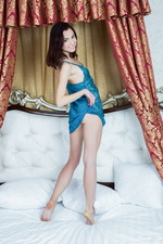 Slim and sexy Macedonian model Aurmi 01