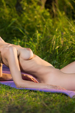 Silky skinned, blonde beauty Zarina A 17