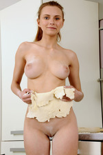 Auburn haired Yuki, Ukrainian hot body 12