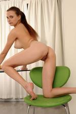 Auburn haired Yuki, Ukrainian hot body 19
