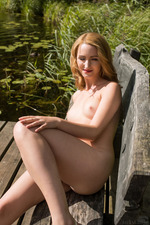 honey blonde newcomer Trish 11