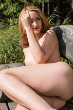 honey blonde newcomer Trish 12