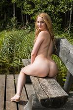 honey blonde newcomer Trish 15